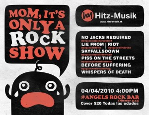Mom, it's only a Rock Show!
