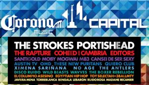 Viaje al Festival Corona Capital en México D.F.