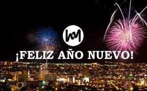 ¡Feliz año nuevo!