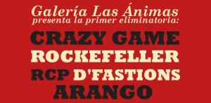 Guerra de Bandas (Eliminatoria 1) @ Galería Las Ánimas