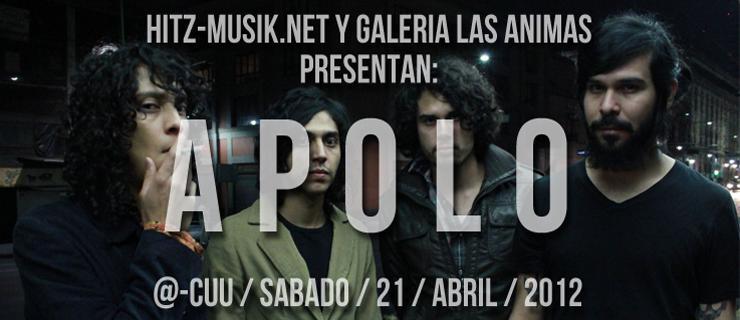 Hitz-Musik.net & Galería Las Ánimas presentan: Apolo en Chihuahua
