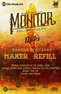 Polvo/Ceniza Tour 2012 en Chihuahua
