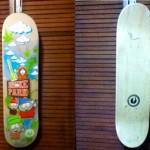 """Smoke Park"" skateboard"