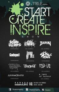 Hitz-Musik.net & True Company presentan: Start, Create & Inspire Show