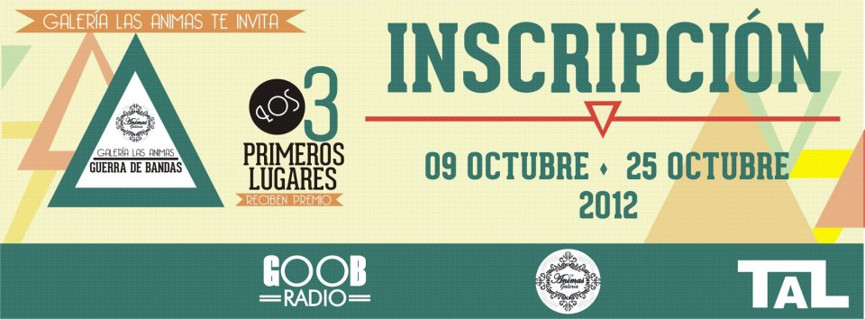 Guerra de Bandas de Galería Las Ánimas 2012 (1er. eliminatoria)