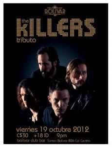 The Killers Night este Viernes 19 de Octubre @ Club Bolívar