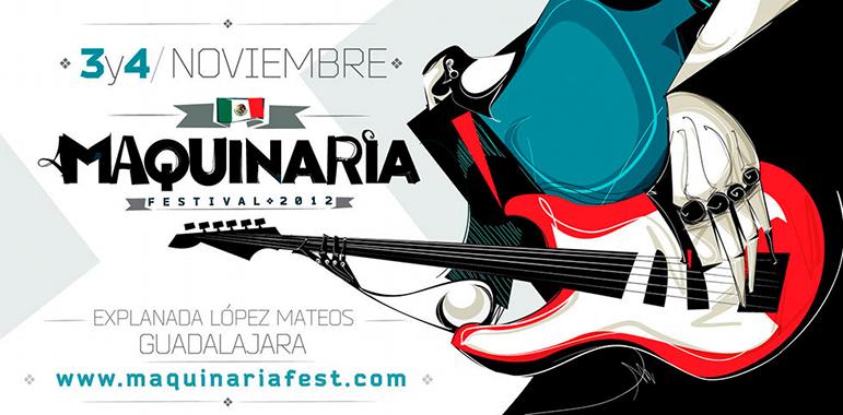 Hitz-Musik.net en el Maquinaria Festival 2012 en Guadalajara