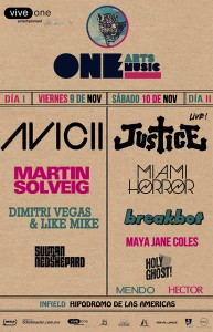 One Music & Arts Festival 2012
