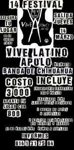 Viaje al Vive Latino 2013 desde Chihuahua