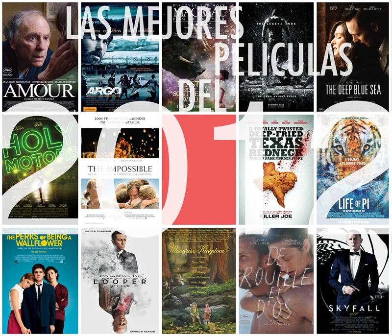 ¿Las mejores películas del 2012?