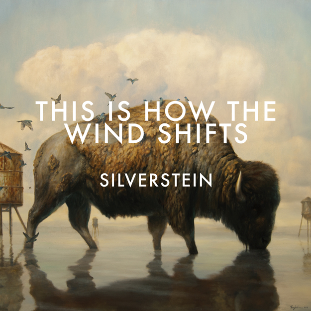 "Portada del nuevo disco de Silverstein ""This Is How The Wind Shifts"" que saldrá este año"