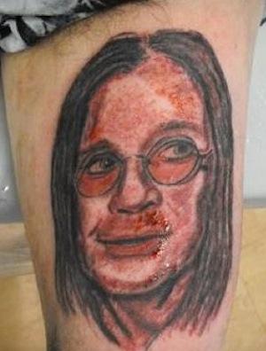 Los peores tattoos del rock: Ozzy Osbourne