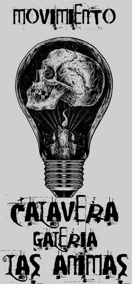 Movimiento Calavera este viernes 8 de febrero @ Galería Las Ánimas