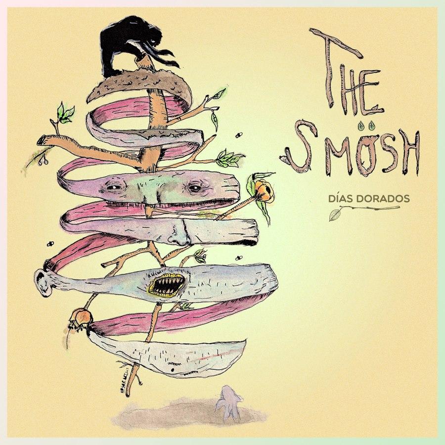 "Portada del sencillo ""Días Dorados"" de The Smösh"