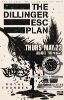 The Dillinger Escape Plan este jueves 23 de mayo @ Tricky Falls (El Paso, TX)