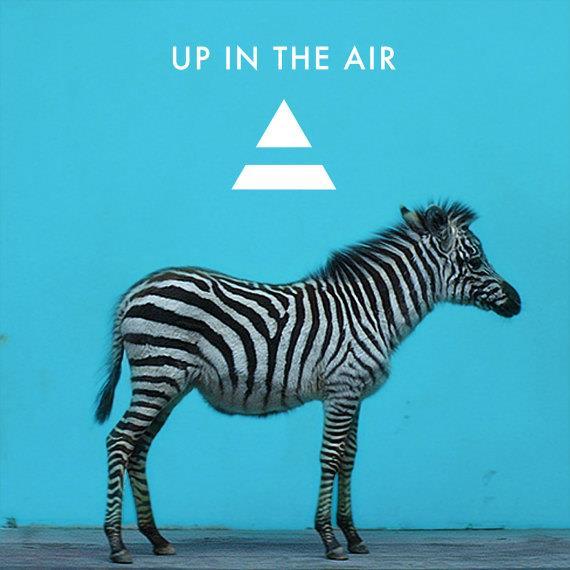 Portada de 'Up In The Air' de 30 Seconds To Mars