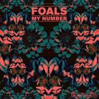 """Portada del sencillo """"My Number"""" de Foals"""