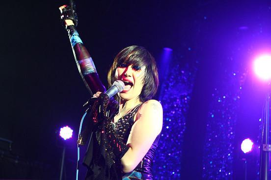 Karen O, frontwoman de los Yeah Yeah Yeahs