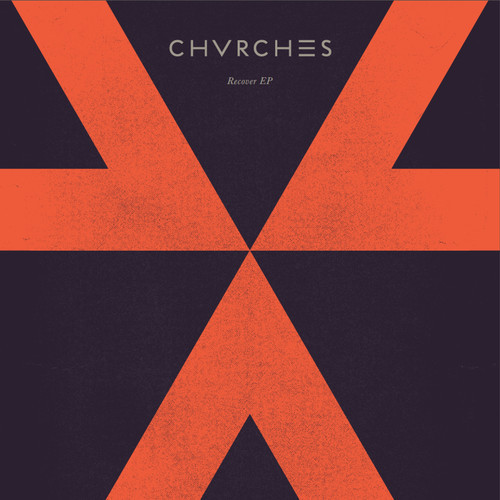 """Arte del EP """"Recover"""" de CHVRCHES"""