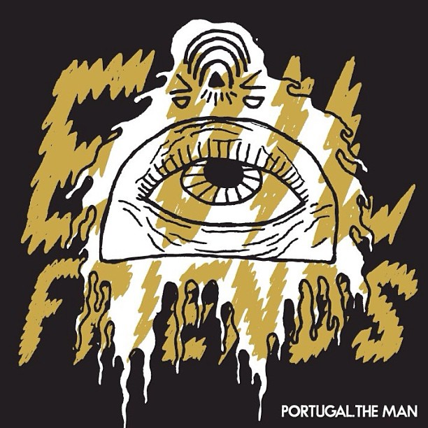 Posible nombre de la próxima producción de Portugal. The Man: 'Evil Friends'