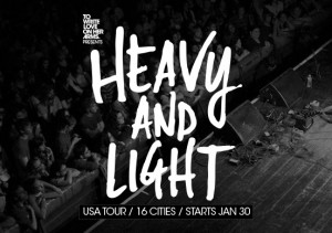 TWLOHA presenta: Heavy And Light Tour 2013