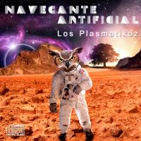 """Portada del nuevo EP de Los Plasmatikoz: """"Navegante Artificial"""""""
