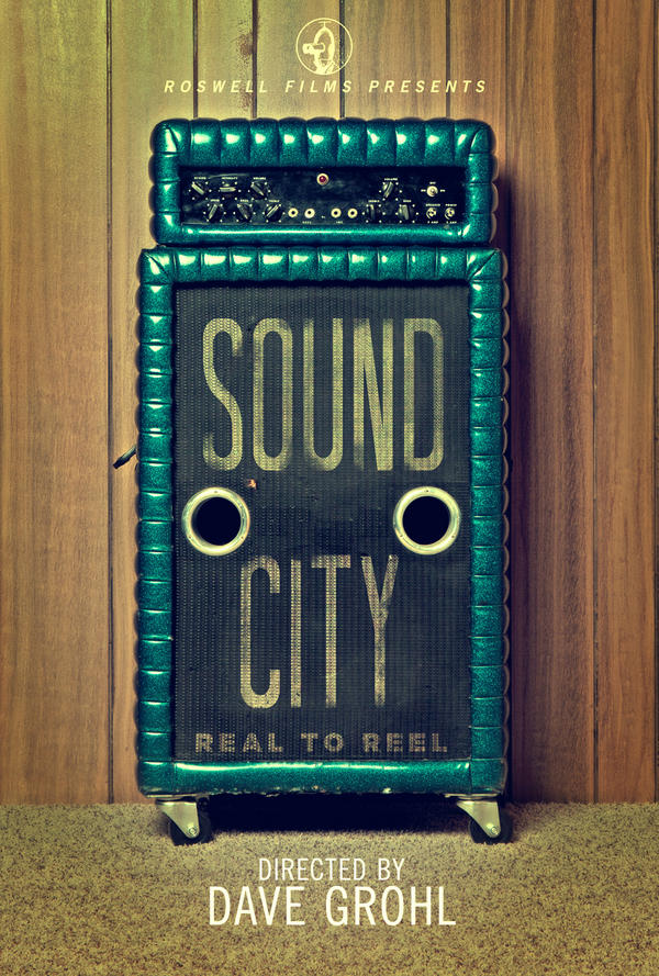 Portada del documental 'Sound City' de Dave Grohl