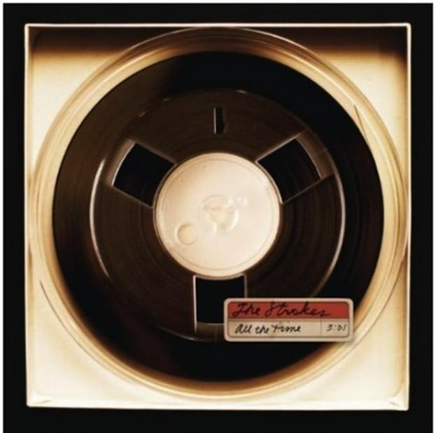 """Portada del single """"All The Time"""""""