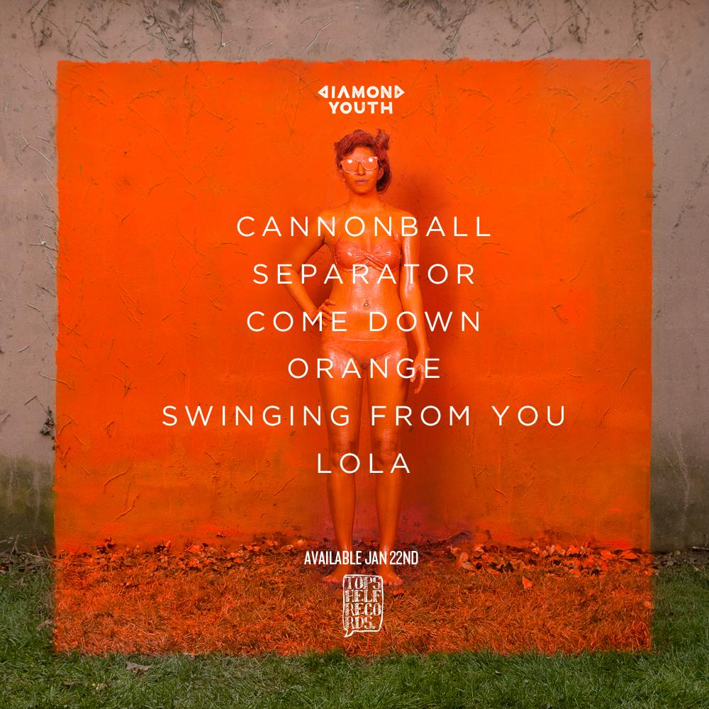 "Arte el EP ""Orange"" de Diamond Youth"