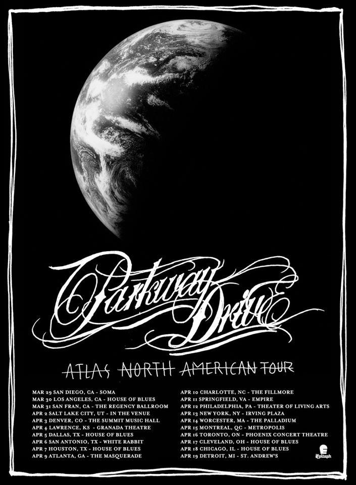 Atlas north American Tour 2013