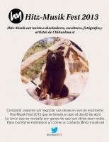 Artistas, fotógrafos, diseñadores y escultores: tienen un espacio en el Hitz-Musik Fest 2013