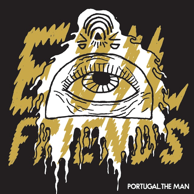 Portada del álbum 'Evil Friends' de Portugal. The Man