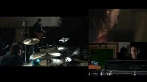 Dave, Josh y Trent tocando juntos
