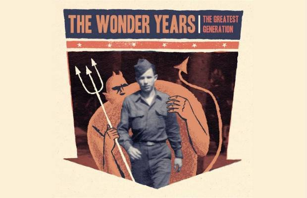 Portada de 'The Greatest Generation', nuevo álbum de The Wonder Years