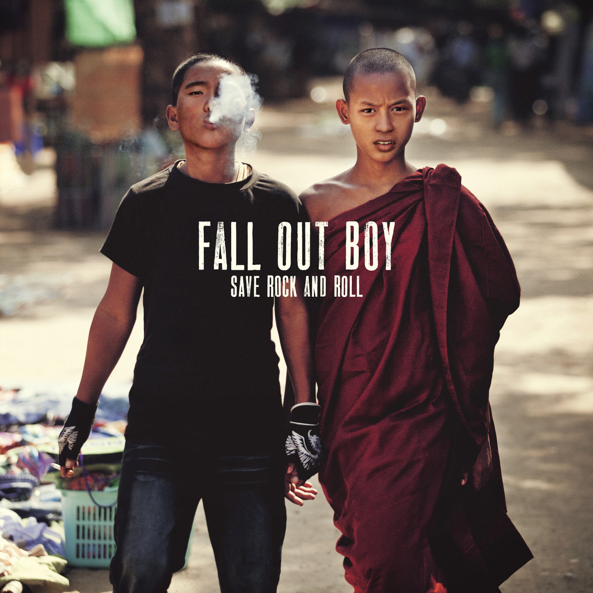 Portada de 'Save Rock and Roll', el nuevo álbum de Fall Out Boy