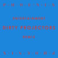 "Arte del remix de ""Entertainment"" de Phoenix por Dirty Projectors"