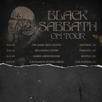 Black Sabbath tour dates