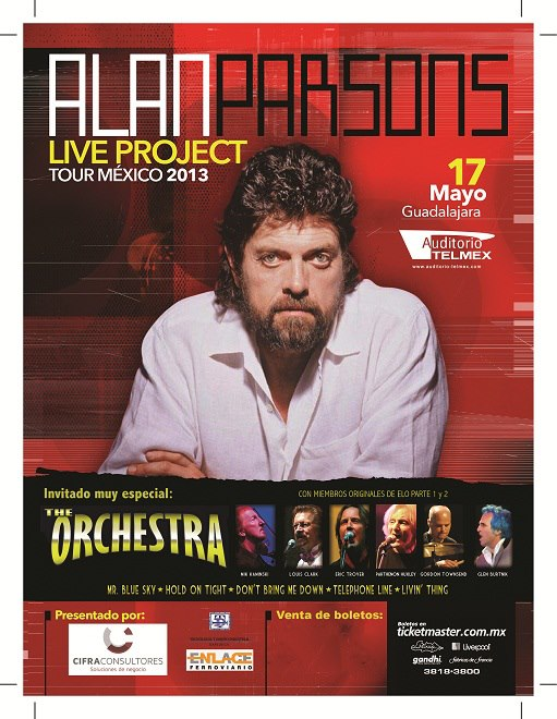 Alan Parsons y Electric Light Orchestra en Guadalajara