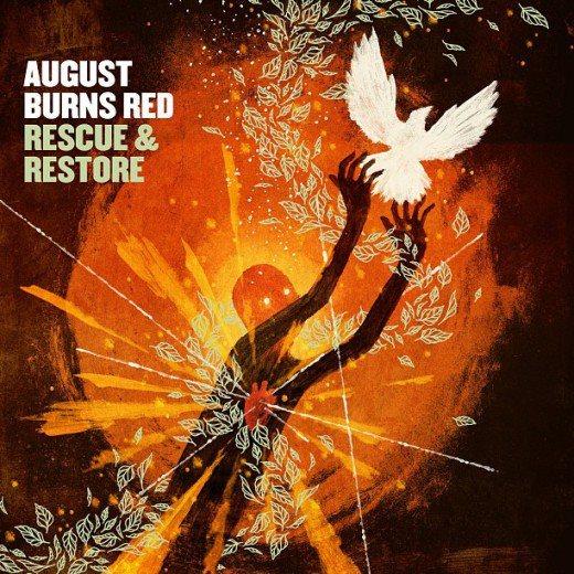 """Portada del nuevo álbum de August Burns Red """"Rescue & Restore"""""""