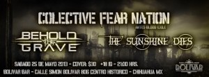 Colective Fear Nation, Behold The Grave y The Sunshine Dies este sábado 25 de mayo @ Club Bolívar