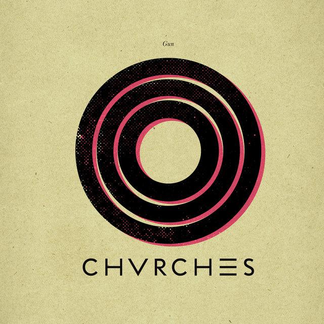 """Portada de """"Gun"""", el nuevo sencillo de CHVRCHES"""