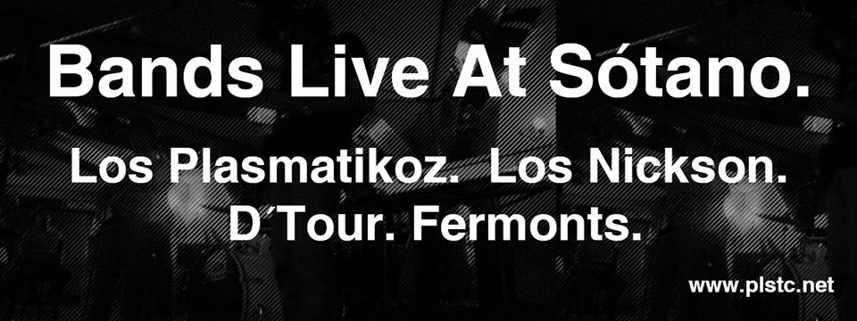 Bands Live este sábado 29 de junio @ Sótano Salón México