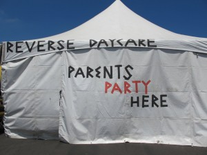 Reverse Daycase tent