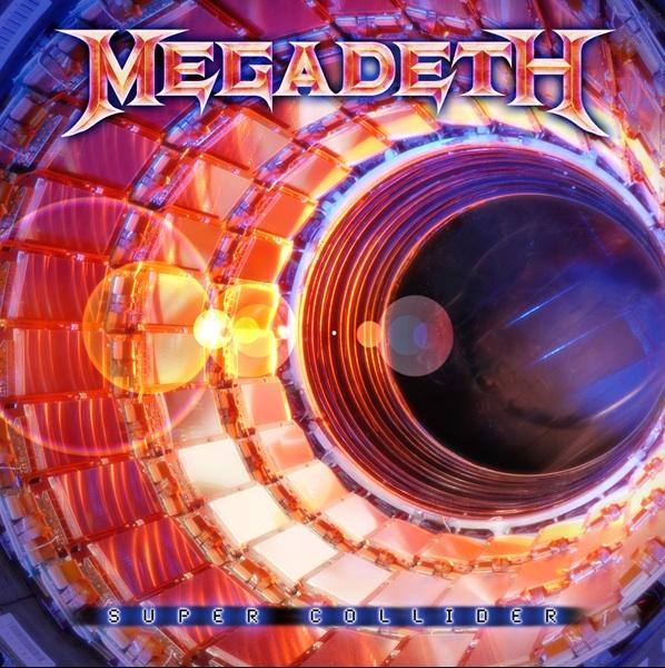 "Portada del nuevo álbum de Megadeth ""Super Collider"""