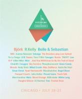Cartel oficial del Pitchfork Music Festival 2013