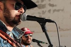 Foto: Los Vikingos del Norte tocando en vivo en el Hitz-Musik Fest 2013