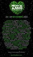 Cartel oficial del Festival Ajusco 2013