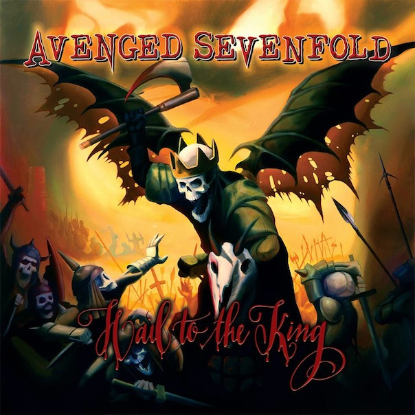 "Portada de ""Hail To The King"",  el nuevo álbum de Avenged Sevenfold"