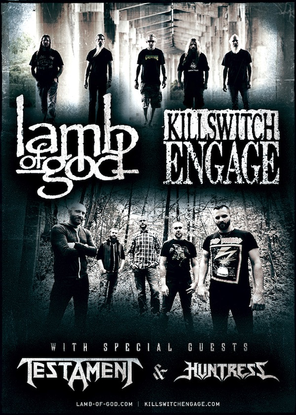 Lamb of God y Killswitch Engage anuncian gira juntos