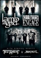 Lamb of God y Killswitch Engage este domingo 3 de noviembre @ Speaking Rock Entertainment Center